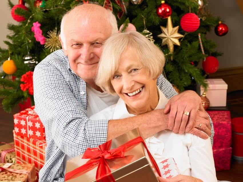 Поздравления для пожилых людей на рождество